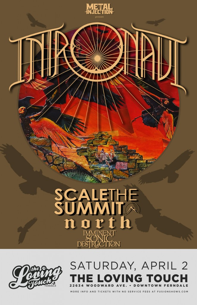 Intronaut-Scale The Summit Flyer